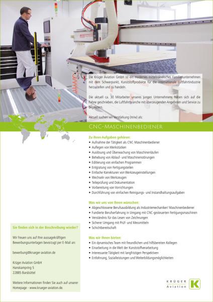 CNC-Maschinenbediener